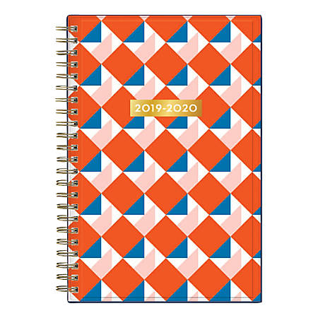 "Blue Sky™ Dabney Lee Weekly/Monthly Planner, 5"" x 8"", Square Dancing, July 2019 to June 2020"