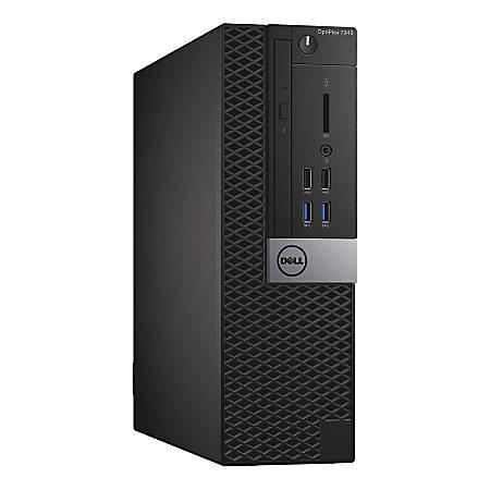 Dell™ Optiplex 7040 Refurbished Desktop PC, Intel® Core™ i5, 8GB Memory, 256GB Solid State Drive, Windows® 10 Pro, D7040SI58256WP
