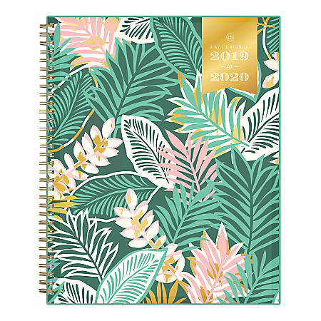 """Day Designer Academic Weekly/Monthly Planner, 8-1/2"""" x 11"""", Antigua, July 2019 - June 2020"""