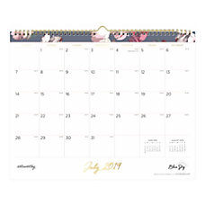 Noteworthy Academic Monthly Wall Calendar 15