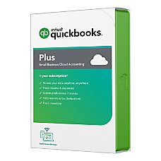 QuickBooks Online Plus 2020 1 Year