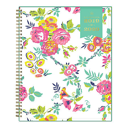 """Day Designer Academic Weekly/Monthly Planner, 8-1/2"""" x 11"""", Peyton White, July 2019 - June 2020"""