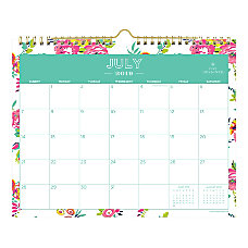 Day Designer Monthly Academic Wall Calendar