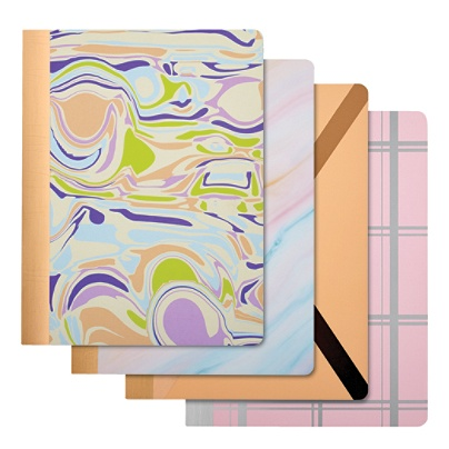 Divoga® Composition Notebook, Whimsical Wonder Collection, College Ruled,  160 Pages (80 Sheets), Assorted Colors Item # 956453