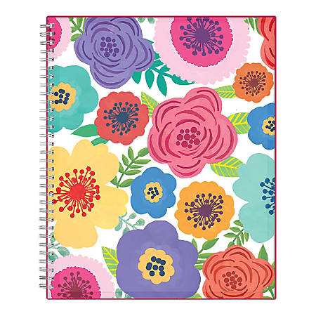 "Blue Sky™ Weekly/Monthly Planner, 8-1/2"" x 11"", Mahalo, July 2019 to June 2020"