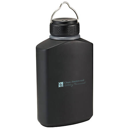 High Sierra® Blackout Aluminum Canteen, 17 Oz, Black