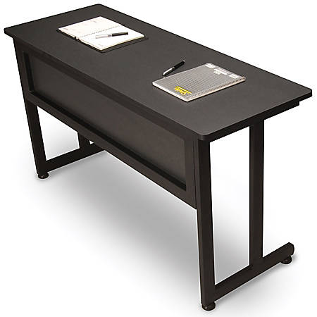 "OFM 20""D Modular Training Table, Graphite"