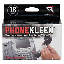 Read Right PhoneKleen Premoistened Wipes Box