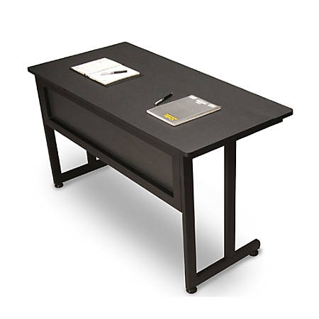 "OFM 24""D Modular Training Table, Graphite"