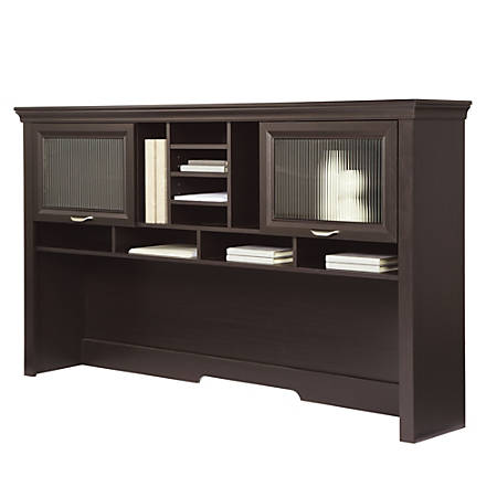 "Realspace® Magellan 71""W Performance Hutch For L-Desk, Espresso"