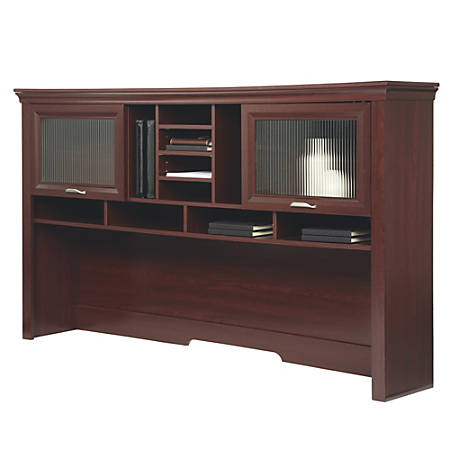 Realspace® Magellan Performance Hutch For L-Desk, Cherry