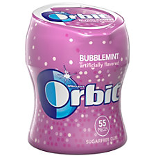 Orbit Bubblemint Gum Bottles 270 Oz