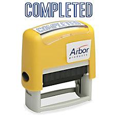 SKILCRAFT Pre Inked Message Stamp COMPLETED