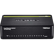 TRENDnet 16 Port 10100 Mbps GREENnet