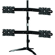 Amer Quad Monitor Stand Mount Max