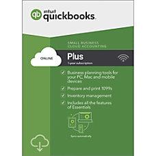 QuickBooks Online Plus 2019 For PC