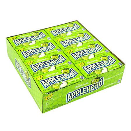Lemonheads Appleheads, 0.9-Oz Box, Pack Of 24