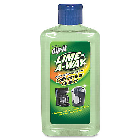 Lime-A-Way Coffemaker Cleaner - Ready-To-Use Liquid - 7 fl oz - 8 / Carton - Light Green