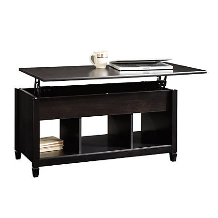 Sauder® Edge Water Lift-Top Coffee Table, Estate Black