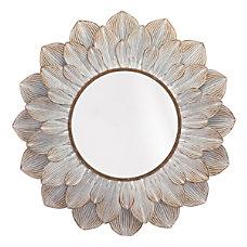 Zuo Modern Flora Oval Mirror 37
