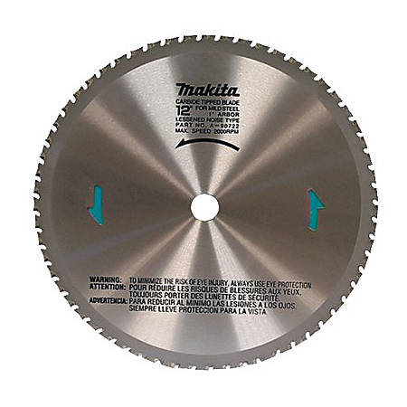 "12""X60 TOOTH DRY CUT METAL BLADE"