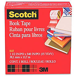 Scotch 845 Book Tape 15 x