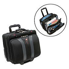SwissGear Wheeled Computer Case Black