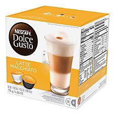 Nescafe Dolce Gusto Latte Macchiato Coffee