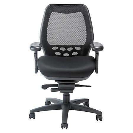 Nightingale SXO Executive Nylon Mid-Back Chair, Black