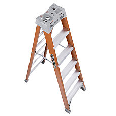 Louisville 6 Fiberglass Step Ladder 5