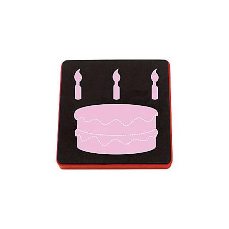 Ellison® AllStar™ Die, Birthday Cake And Candles