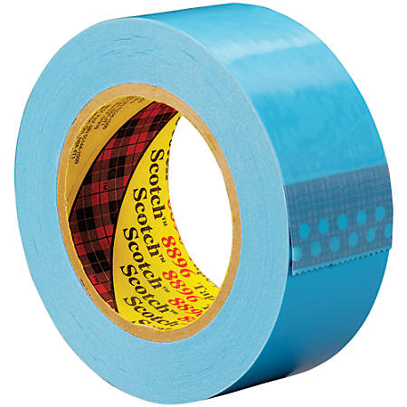 """Scotch® 8896 Strapping Tape, 3"""" Core, 2"""" x 60 Yd., Blue, Case Of 24"""