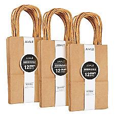 36 Count Brown Kraft Bags Paper