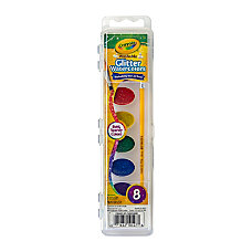 Crayola Glitter Watercolor Paints Assorted Colors