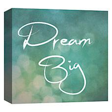 PTM Images Framed Art Dream Big