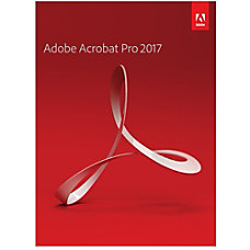 Adobe Acrobat Pro 2017 Windows Download
