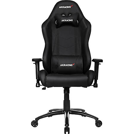 AKRacing™ Core Series SX Faux Leather Gaming Chair, Black