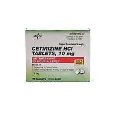 Cetirizine 10 Mg Tablets Box Of