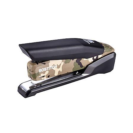 Bostitch® Wounded Warrior Metal Desktop Stapler, Green/Tan