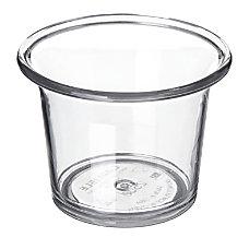 Carlisle Sauce Cups 25 Oz Clear