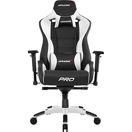 AKRacing™ Master Series Pro Luxury XL Gaming Chair, White