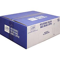 Webster Zipper Storage Bags 1 gal