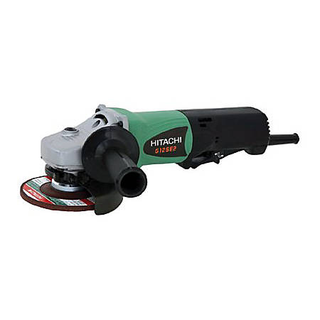 Disc Grinders, 4 1/2 in Dia, 9.5 A, 11,000 rpm, Paddle