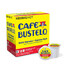 Cafe Bustelo Espresso Roast Coffee K