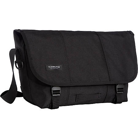 Timbuk2 Classic Messenger Bag Jet Black - Office Depot 376aa2d829028
