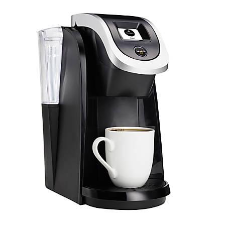 Keurig 20 K200 Coffee Maker Brewing System Black Office Depot