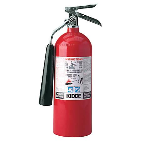 ProLine Carbon Dioxide Fire Extinguishers - BC Type, 5 lb Cap. Wt.