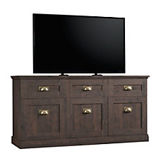 Sauder New Grange Entertainment Credenza For