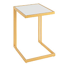 Lumisource Roman Side Table GoldWhite