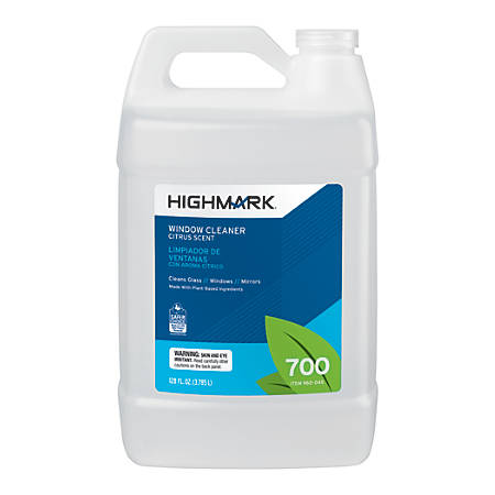 Highmark® Citrus-Scented Window Cleaner, 128 Oz
